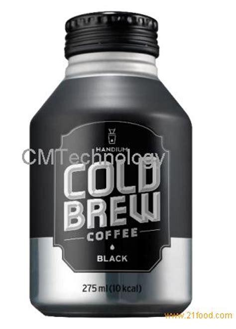 Cold Brew Coffee Black By Bagasta Coffee cold brew coffee rtd black 275ml products korea cold brew coffee rtd black 275ml supplier