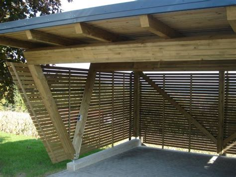 carport aus holz 25 best ideas about carport aus holz on