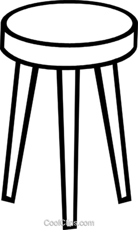 Transparent Bar Stools by Bar Stool Royalty Free Vector Clip Illustration