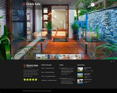 sale real estate html theme by themerex themeforest