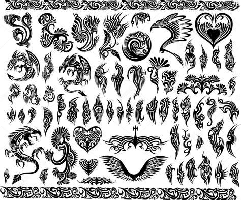 cornici tribali cornici di draghi iconica frontiera tatuaggio tribale