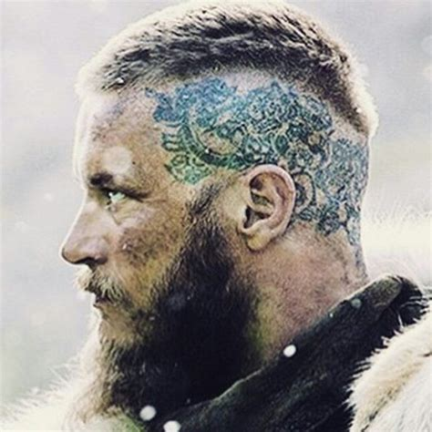 ragna on vikings tattoos on his head 83 best images about tattoos on pinterest carving