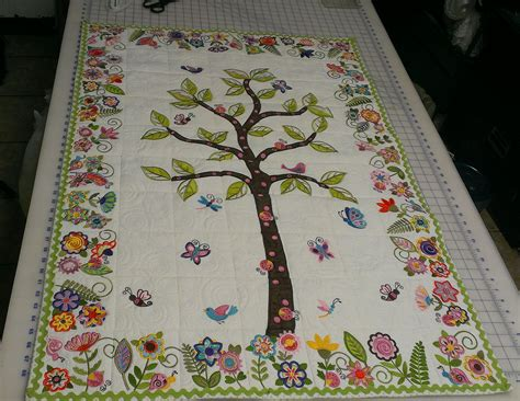 Family Tree Quilt Pattern by Baby Quilt Family Tree Quilt Ideas