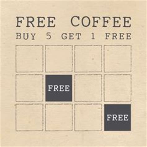 coffee shop loyalty card template free customer loyalty cards are an excellent way to reward your