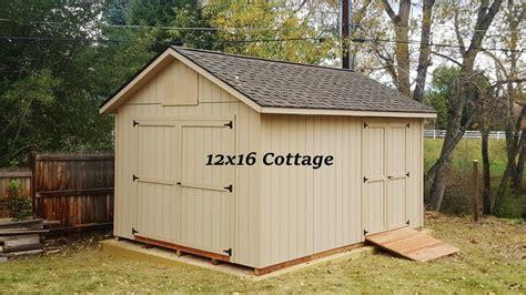 cottage storage shed