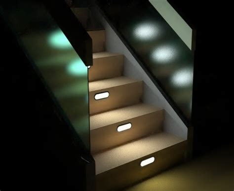 stair lighting interior staircase home interiors