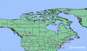edmonton map of canada where is edmonton ab where is edmonton ab located in