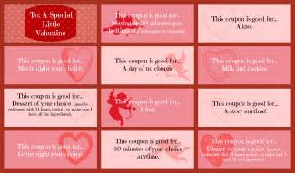valentine s day coupon book printable for that special