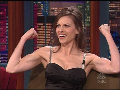 Hilary Swank Looks Great Until You Get To The by Here Am I Sorry You Don T A Choice