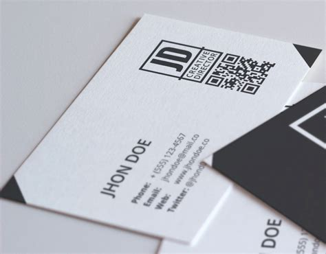 Card Template Darkroom by Template Business Card