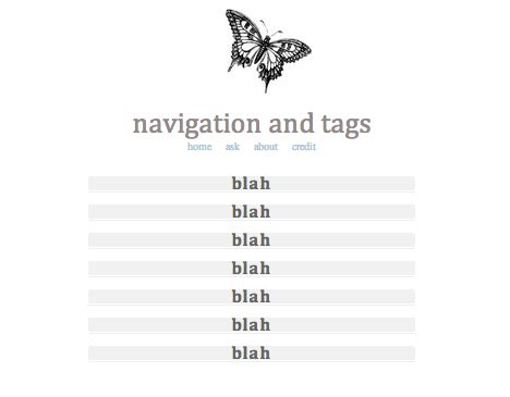themes for navigation tumblr navigation theme tumblr