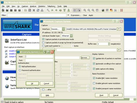 wireshark tutorial remote interface remote packet capture with wireshark and winpcap