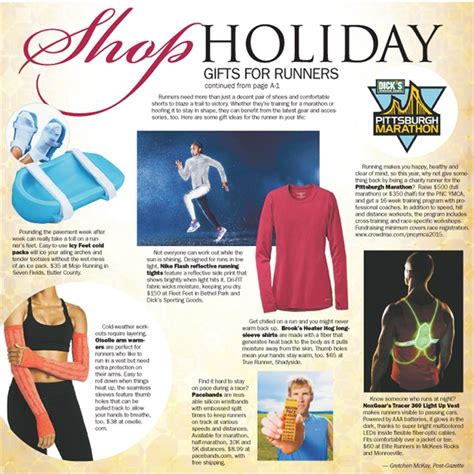 shop holiday gifts for runners pittsburgh post gazette