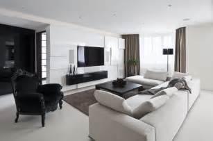 Black L Tables For Living Room Modern Living Room Furniture Modern Black And White Furniture Fiona Andersen