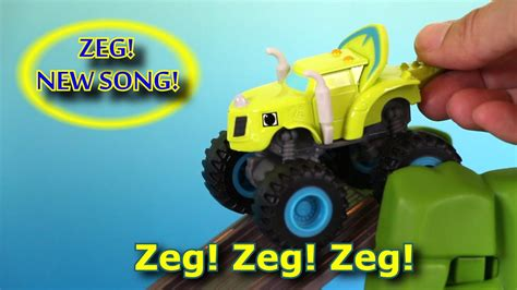 blaze and the machines theme song zeg sing a