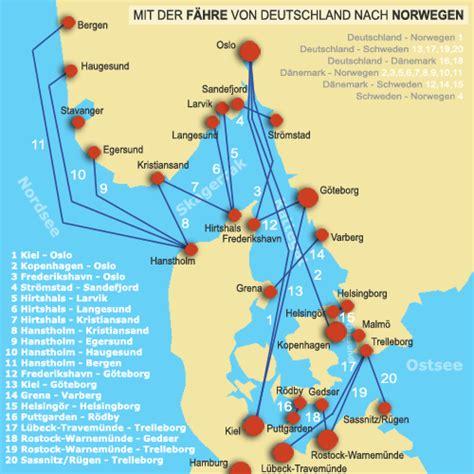 Von Hamburg Nach Dänemark Mit Dem Auto by Karte Deutschland D 228 Nemark Norwegen My Blog