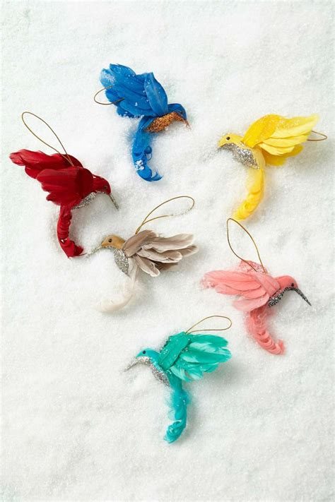 hummingbird ornament anthropologie com christmas time