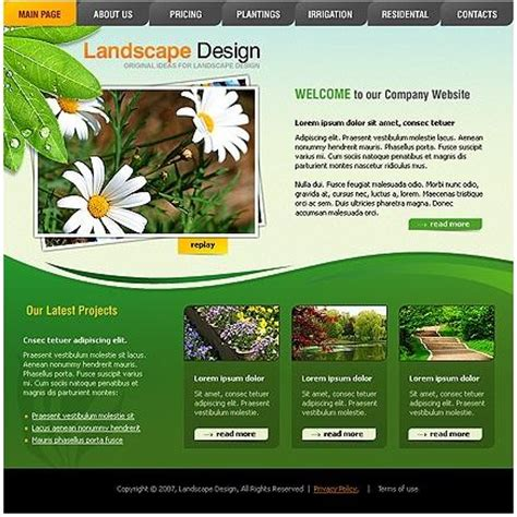 how to make a website for landscaping subjects wycepypa