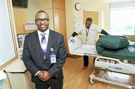 Yale Healthcare Mba Program Director by Yale Hospital Environmental Services Director Stresses