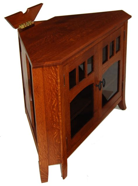 maple wood tv cabinet old world 43n corner or wall tv stand ohio hardwood