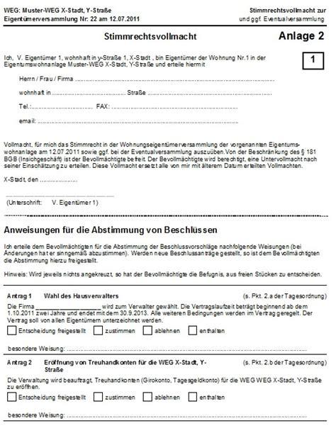 Mahnung Hausgeld Muster Muster Einladung Eigent 252 Merversammlung Brillebrille Info