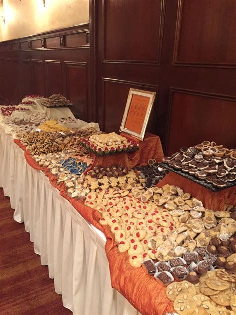 Traditional Pittsburgh Cookie Table