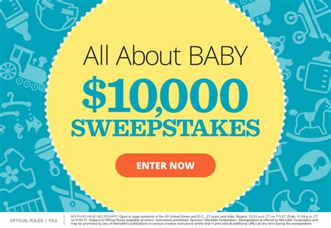 Parents Com Sweepstakes - all about baby 10 000 sweepstakes parents