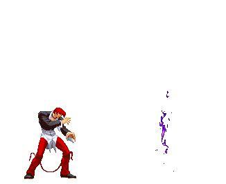imagenes animadas kof kof gif iori yagami