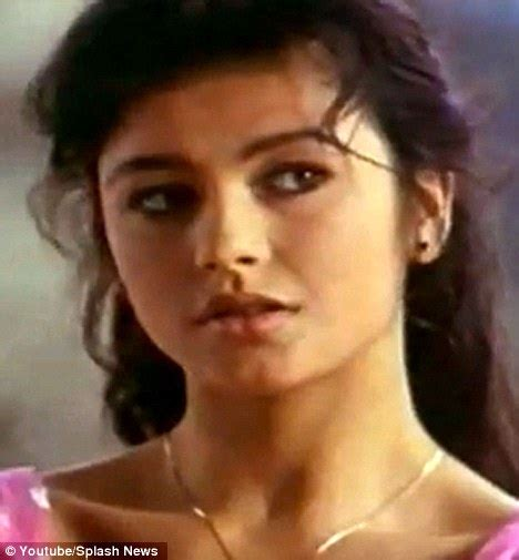 catherine zeta jones youth before she was famous german advert starring a young