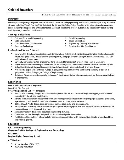 medical device resume semiconductor equipment engineer sample