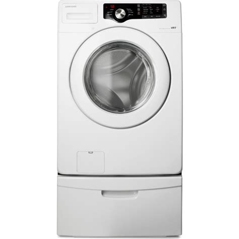 samsung vrt plus samsung wf210anw 27 quot front load washer with 3 5 cu ft capacity 6 wash cycles 3 wash options