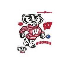 patten university mascot wisconsin badgers logo clip art wisconsin badgers