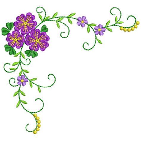 flower design for scrapbook floral corner embroidery design scrapbook embellishments