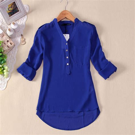 10 Shirts You To This Summer by Summer Blouse V Neck Sleeve Chiffon Shirts