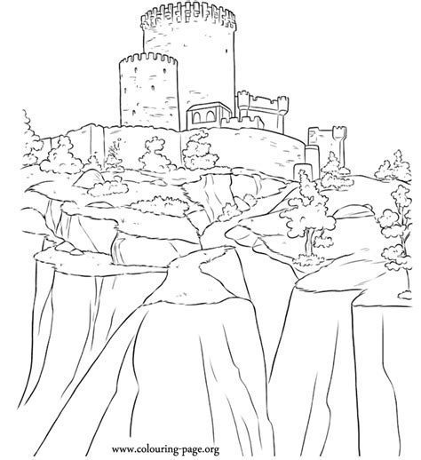 free coloring pages of disney castle from frozen disney frozen castle coloring pages