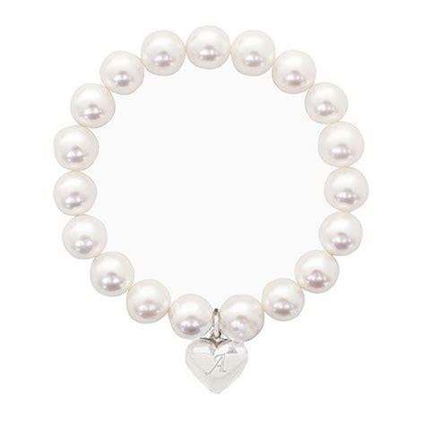 personalised stretch pearl bracelet confetti co uk