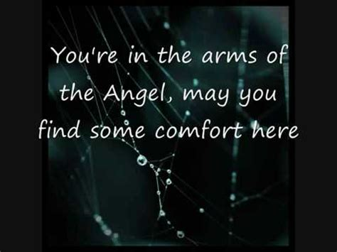 comfort you lyrics angel sarah mclachlan lyrics youtube