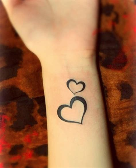 images of small heart tattoos small tattoos for www pixshark images