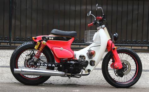 Keranjang Depan Honda C70 modifikasi honda karisma c70 til sedikit feminim