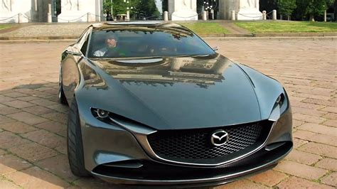 mazda vision coupe interior exterior driving youtube