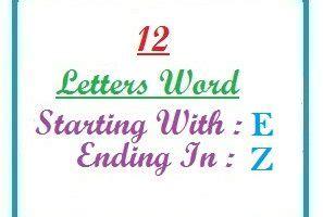 Eleven Letter Words