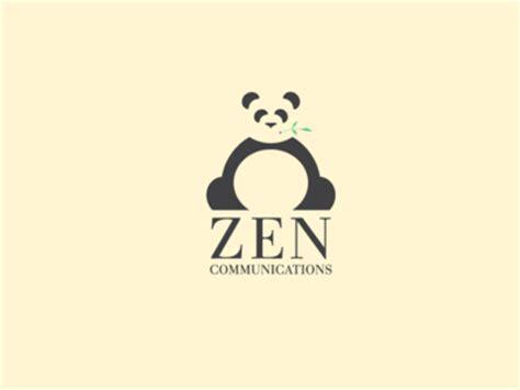 logo design zen logo design pandas
