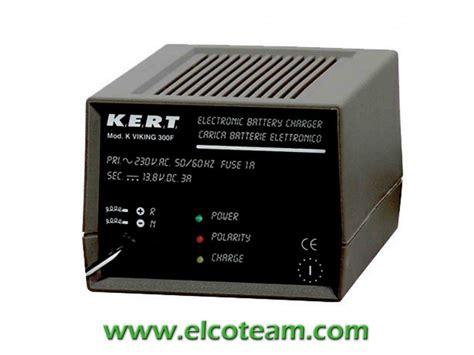 kert alimentatori kert vik300f caricabatterie per batterie al piombo 3a