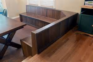 Built In Dining Room Bench Crafted Custom Built In Dining Room Bench Seating By R J Hoppe Inc Custommade
