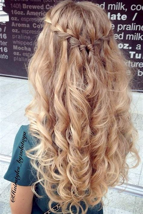 evening hairstyles pinterest 25 best ideas about curly prom hairstyles on pinterest