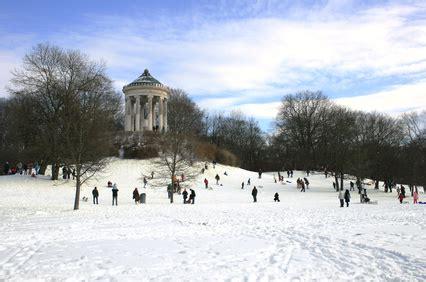 Englischer Garten München Winter finale rodeln in der stadt wo kann am besten