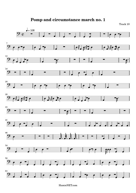 pomp circumstance and sheet music class of 2014 pomp and circumstance march no 1 sheet music pomp and
