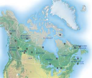 maps view canada this map shows the best places in canada to view the