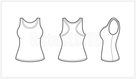 tank top coloring page women s tank top clipart clipart suggest
