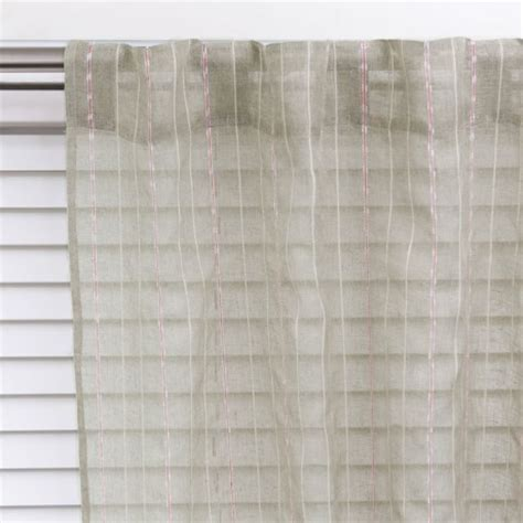 Concealed Tab Curtains Illiad Sheer 140x230cm Concealed Tab Top Curtain Contemporary Curtains By